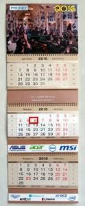 Календари Трио